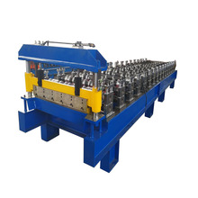 ibr trapezoidal metal sheet roof roll forming machine