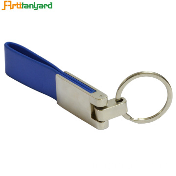 Aangepaste PU Leather Keychain