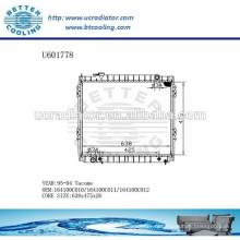 RADIATOR 164100C010 / 164100C011 / 164100C012 pour TOYOTA 95-04 TACOME Fabricant et vente directe!