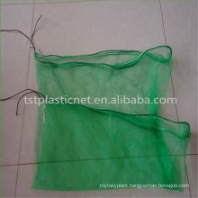 100% Virgin HDPE harvest green package date mesh bag
