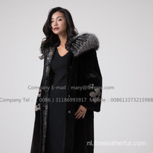 Mink Lady Fur Reversible Women Coat