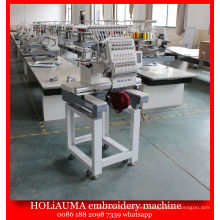 The Best 15 Color One Head Computer Embroidery Machine / Hat Clothes Embroidery Machine Price