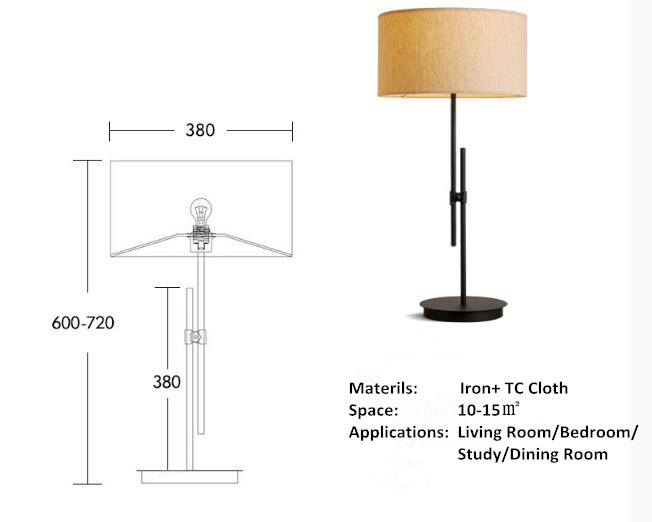 Bedside LED Table Lamp