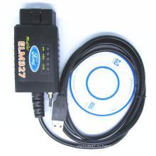 Шина CAN Elm327 USB с переключатель OBD2 диагностический сканер