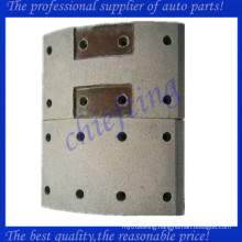 47441-1180a High quality non asbestos front hino brake lining