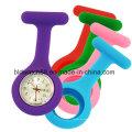 La nueva manera se divierte el reloj del Fob del silicón del cuarzo con el calendario