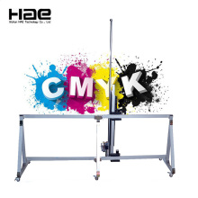 CMYKW Vertical 3D Wall Printing Machinery Price