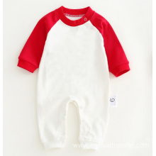 New Fashion Design for Pure Color Baby Romper Custom blank Newborn Baby Romper export to Indonesia Factories