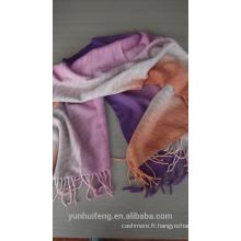 Cachemire et écharpe en laine à la mode et à la mode