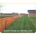100% barreira do engranzamento do sinal da construção da segurança do HDPE do Virgin / barreira de segurança / rede alaranjada da barreira de segurança