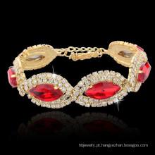 Tilintando pulseira de jóias de moda para casamento