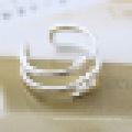 Amoureux 925 Sterling Silver Romantique 520 en forme de coeur anneau