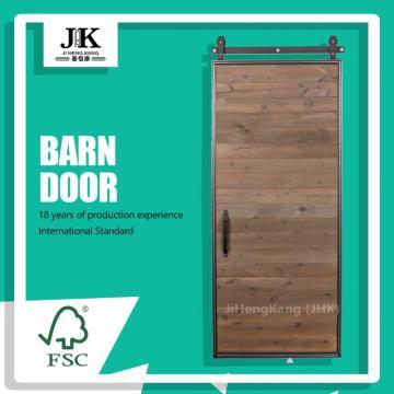 JHK Farmhouse Door Faux Shutter Barn Door