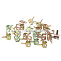 spring swivel welding wire stainless steel pipe clamp