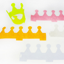 3D felt crown for kids craft