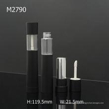 2 em 1 vazio pequeno personalizado Lip Gloss Container