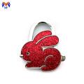 Metal table portable rabbit bag hanger