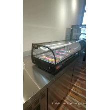 armário de vidro para bolo refrigerador refrigerador