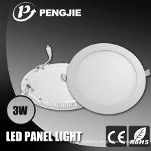 Luz de panel redonda SMD2835 3W LED con CE (PJ4020)