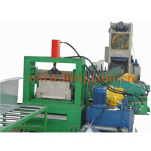 Australia Perforated Tray Ladder Type Cable Tray Duct Roll Forming Making Machine