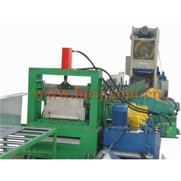 Bandeja perfurada de Austrália Tipo de escada Trava de cabos Rolamento de duto formando máquina de fazer