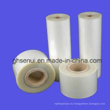 Película de rollo de laminación del animal doméstico 32mic ~ 250mic para el lustre y la superficie mate