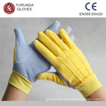 garden working gloves with pvc dots on palm,women gloves price