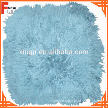Multi Colors unfilled dyed Mongolian Fur Cushion