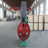Vertical bandsaw mill for timber cutting