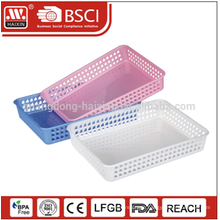 Eco-friendly promotation wholesales Multi-use PP storage plastic basket
