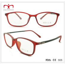 Señoras Tr90 gafas de lectura con el templo de primavera (7209)
