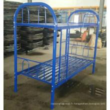Le travail de meubles en acier utilisent le lit en métal en gros bon prix lit