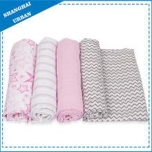 100% bambu musselina cobertor de lã