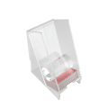 Clear Acrylic Playing Card Discard Holder