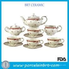 Delicate Vintage Ceramic Teapot Set
