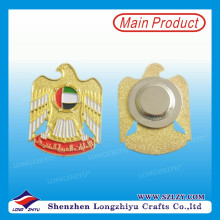 UAE Gold Eagle Magnetic Lapel Badge