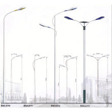 Hot DIP Galvanized Street Lighting Steel Post