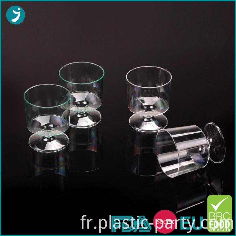 Plastic Wine Glasses 2 oz