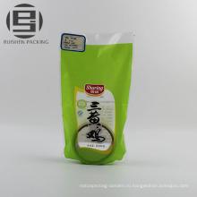Небольшой напечатанный пластичный замораживания пищевых упаковочных мешков