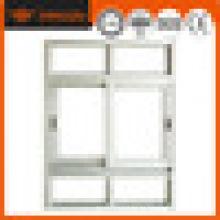 Piezas de aluminio del marco de la ventana de la alta calidad de encargo, marco de ventana de aluminio