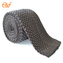 New Men's Hand Knitted Crochet Classic Dots Ties