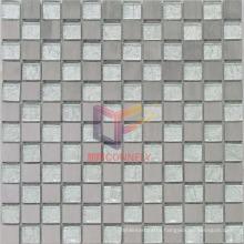 Silver Crystal Gold Leaf Mosaic/Glass Mosaic (CFA43)