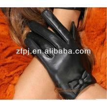 Newest Fashion Polishing short women s leather gloves