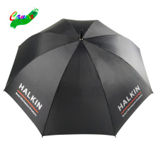62 inch manual open custom logo stand black golf umbrella