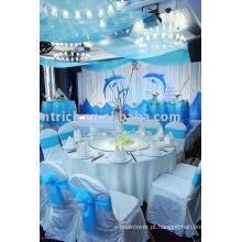 tampa da cadeira, tampa da cadeira de casamento, faixa do banquete