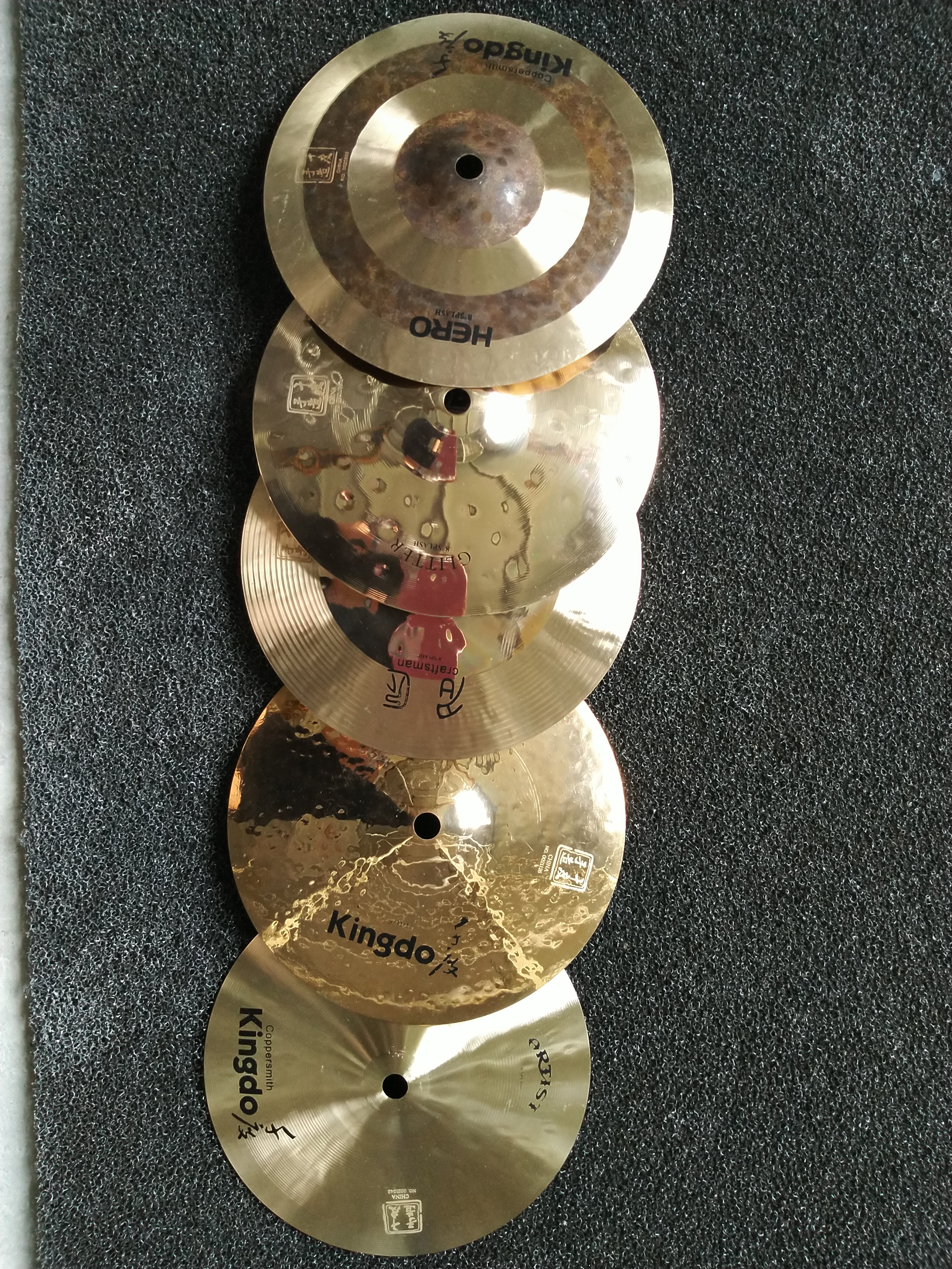 Music Instrument Splash Cymbals