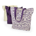 OEM Produce Customized Logo Printed Cotton Canvas Craft Tote Beach Shopping Bag