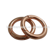 Hot Sell With Compared Price Round Ring Wholesale Gold Spring Ring