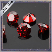 Wuzhou Original Wholesale Granate Red CZ Diamond