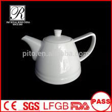 P&T porcelain factory coffee and tea pots, custom decal design pots